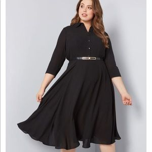 Modcloth Dependable Impression Dress ~SO FLOWY~